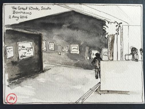 The Great White South, Exhibition, Bonhams, New Bond Street