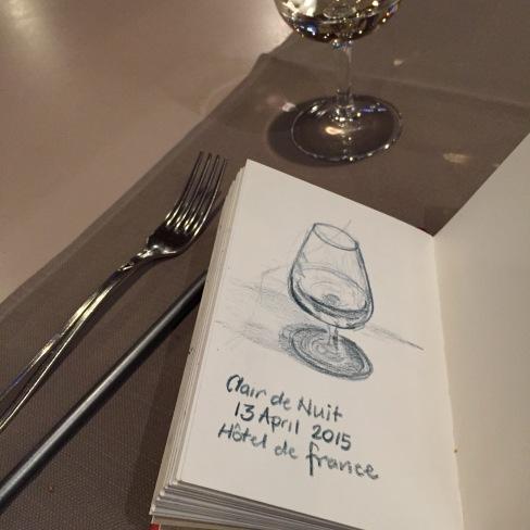 Clair de Nuit, Hotel de France, Vaud