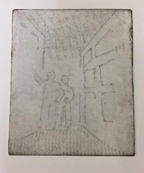 Urban discussion, soft ground etching