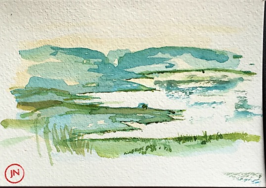 Lake Spiggie, Shetland