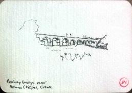 Railway Bridge near Holmes Chapel