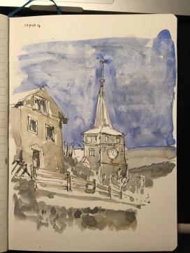 The Temple at Sainte-Croix, Vaud, Switzerland