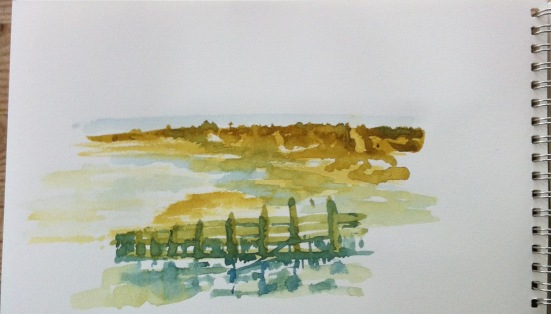 Towards the Sea, Walberswick
