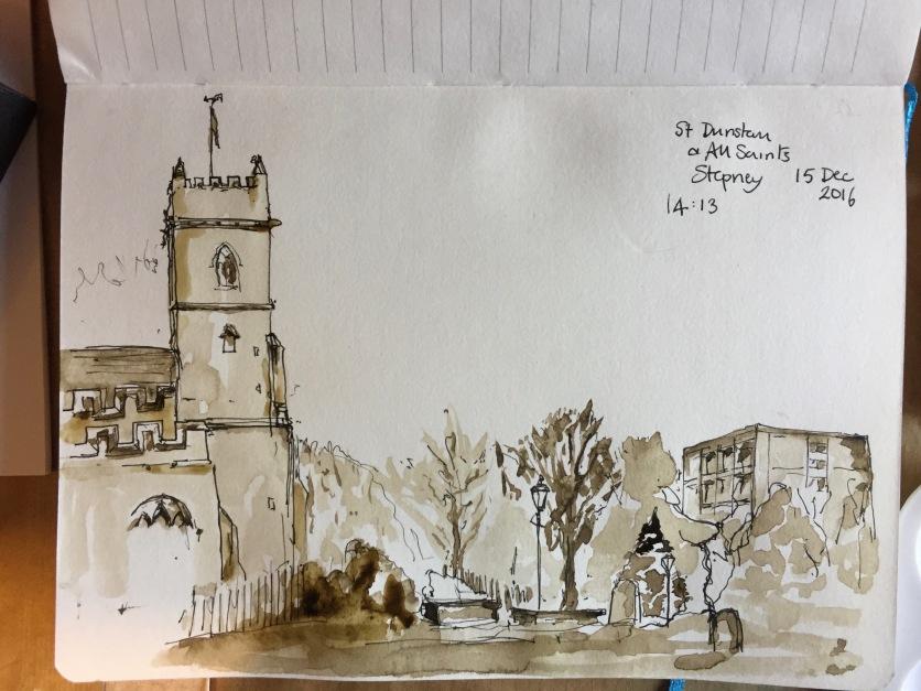 St Dunstan and All Saints, Stepney