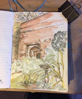 The Charterhouse: the gate in the wall