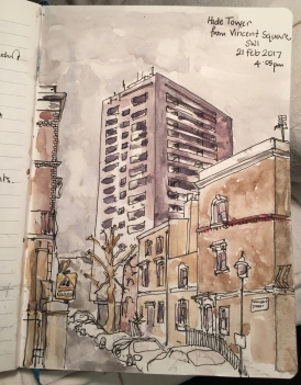 Hide Tower from Vincent Square SW1