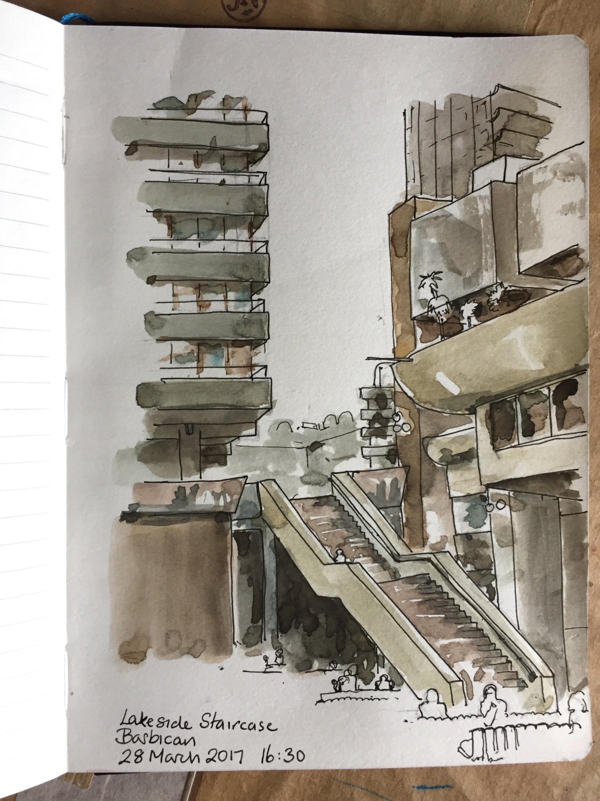 Barbican Staircase
