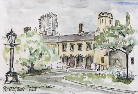 The Charterhouse, informery and Coffee Room