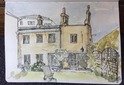 The Master's Garden, Preacher's House