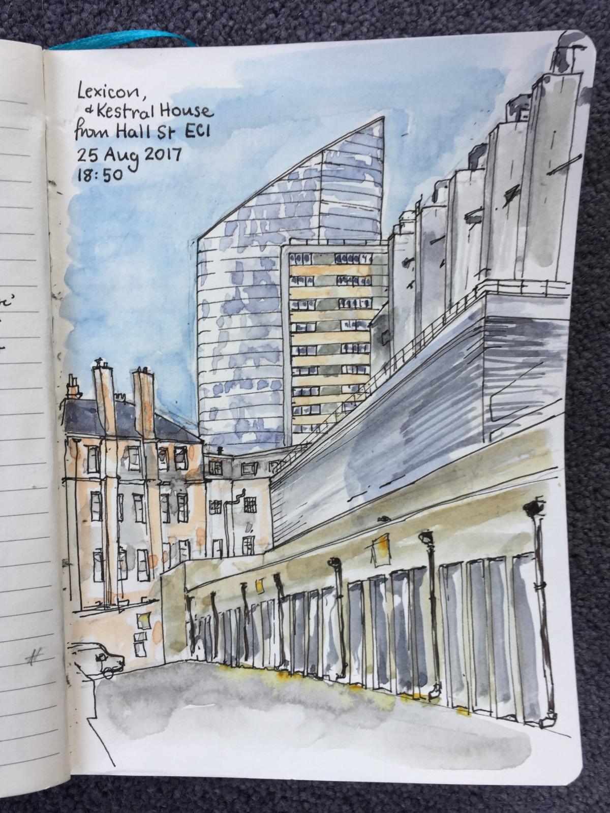 Towers of Finsbury – Rahere andKestrel