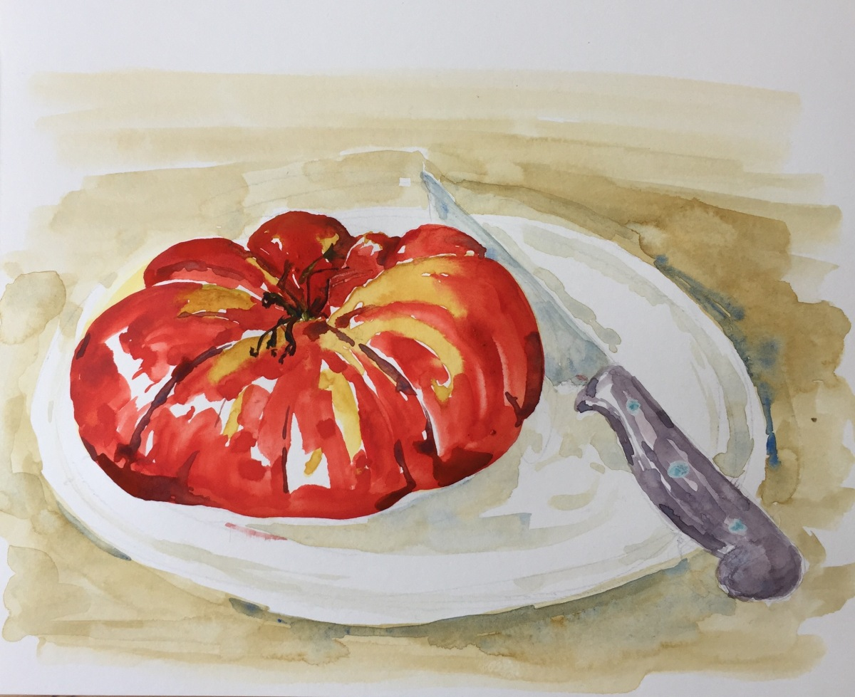 Tomato from Montcigoux
