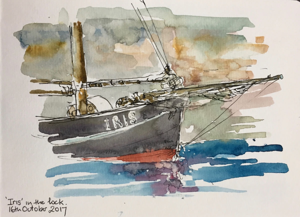 Sketch notes from maritime Holland