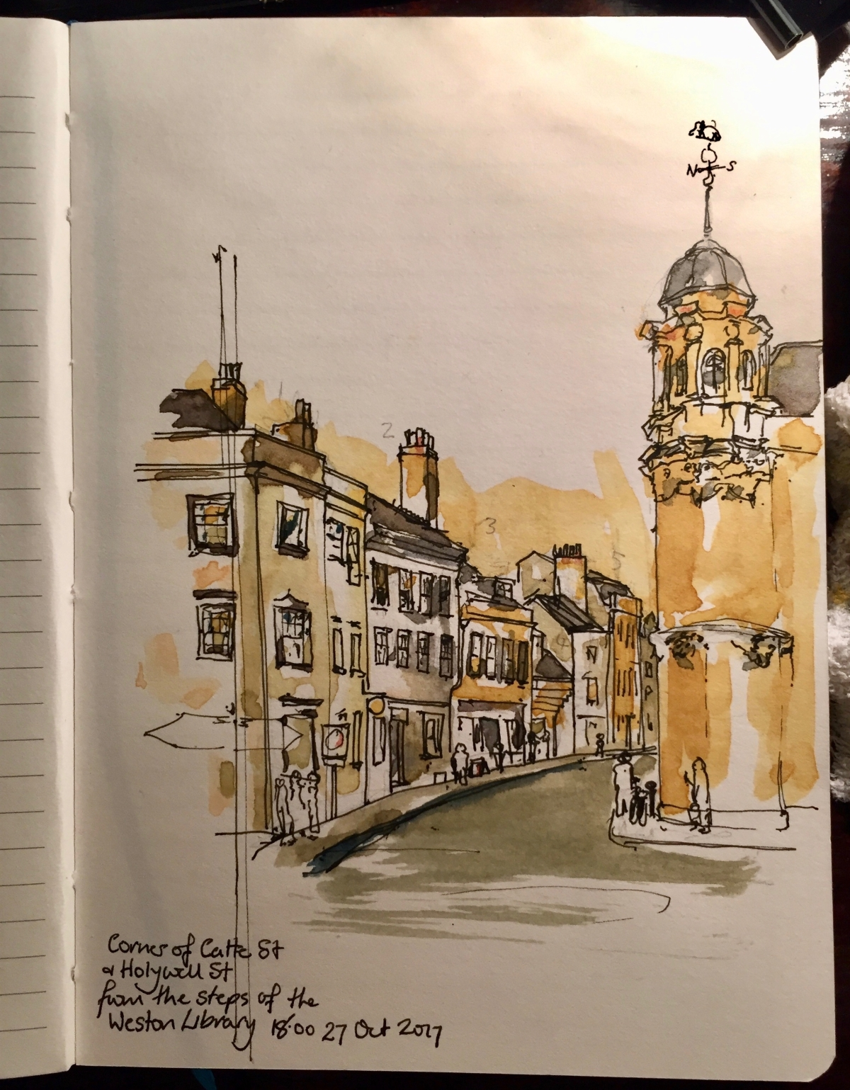 Two sketches in Oxford