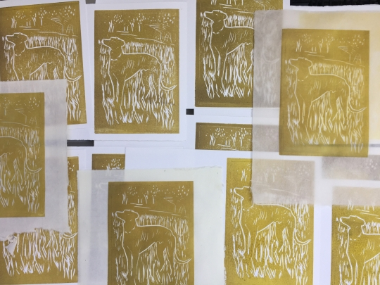 Prints from the first colour