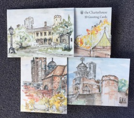 Notecards for The Charterhouse