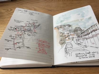 Sketchbook open