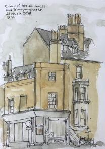 Corner of Fitzwilliam Street