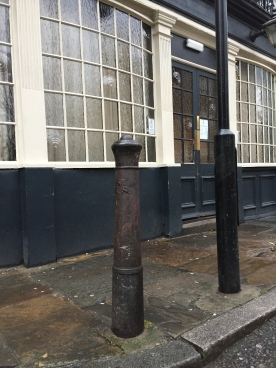 Cannon, now a bollard
