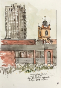 St Giles Church and Lauderdale Tower