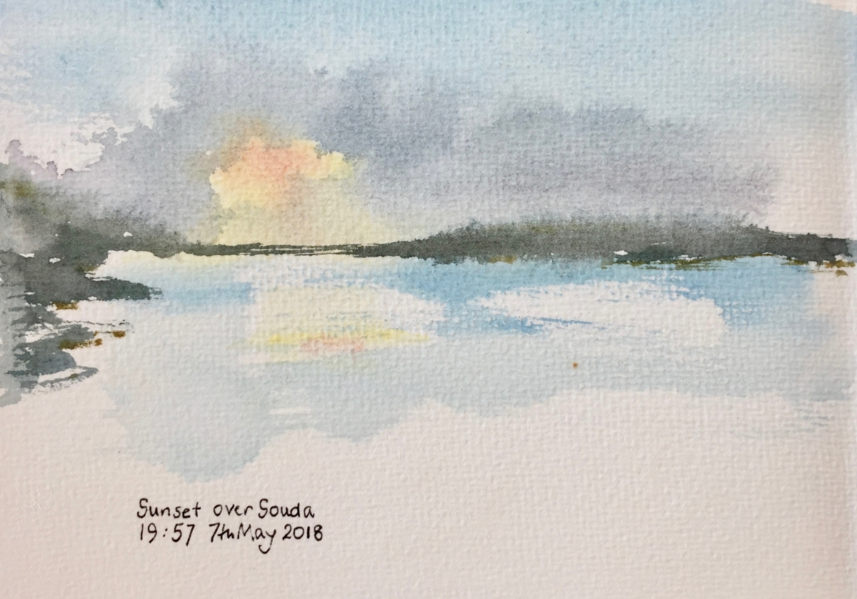 Sketching in Crete: May 2018