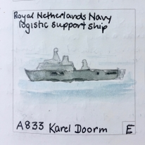 A833: Armed multi-function support vessel