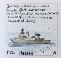 F221: Frigate with surface to air missiles