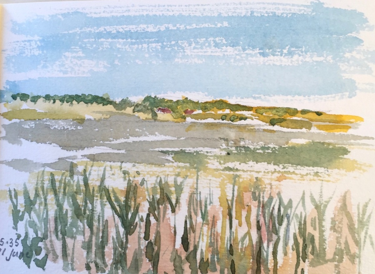 Suffolk Sketchbook, June 2018