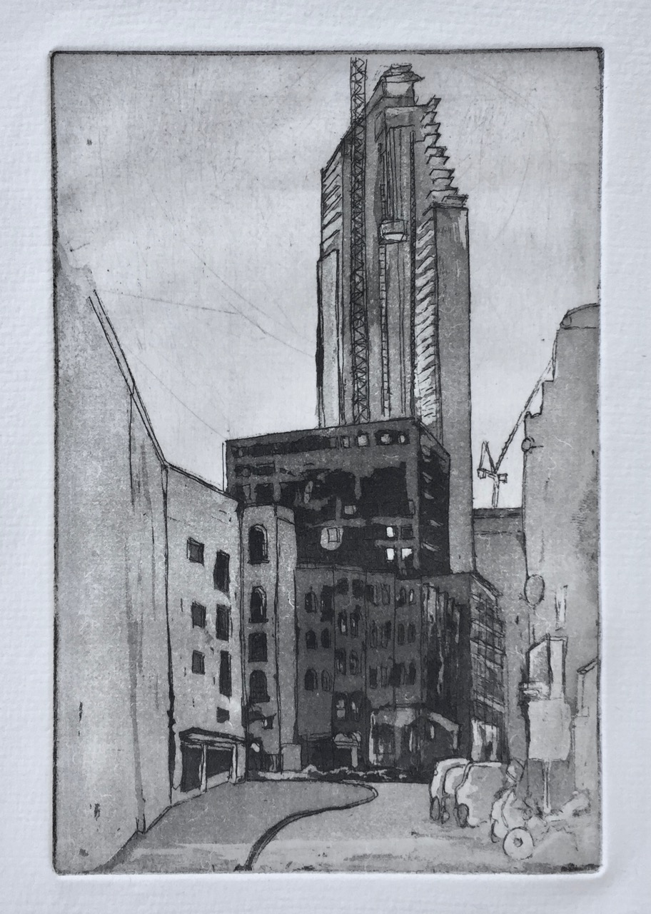 The Atlas Building – print