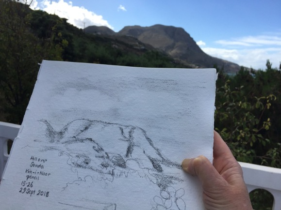 Sketching the Hill over Souda
