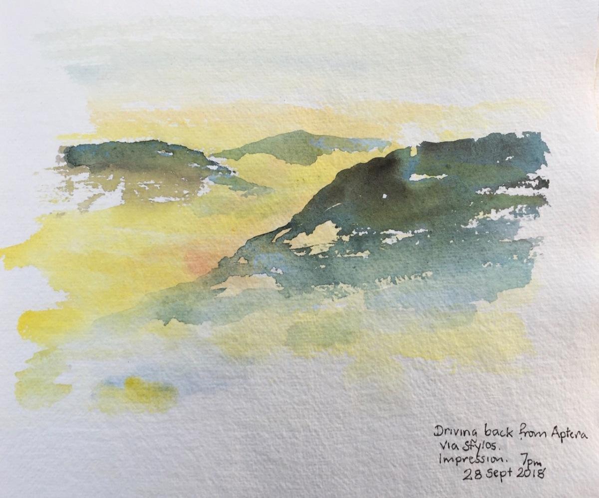 Sketches in Crete – Sept2018