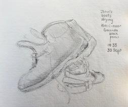 John's boots