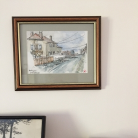 Original Watercolour framed