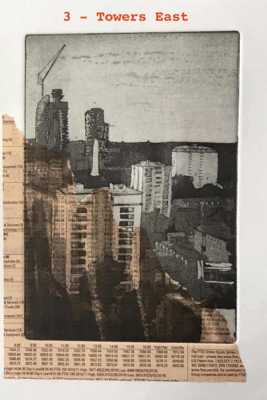 Towers East and Towers West – multiple prints