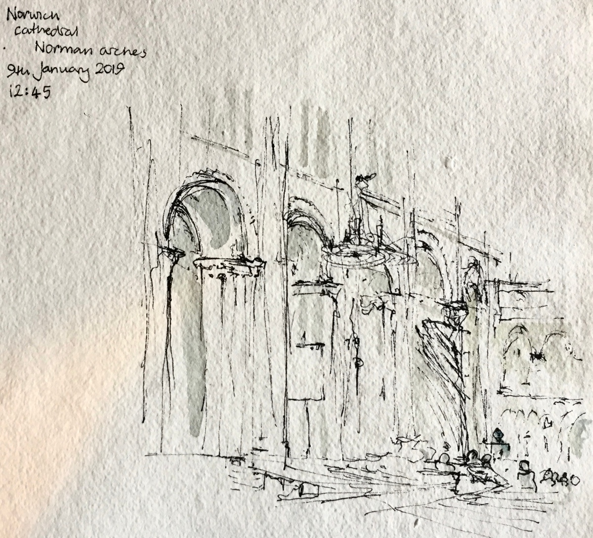 Sketching in Norwich