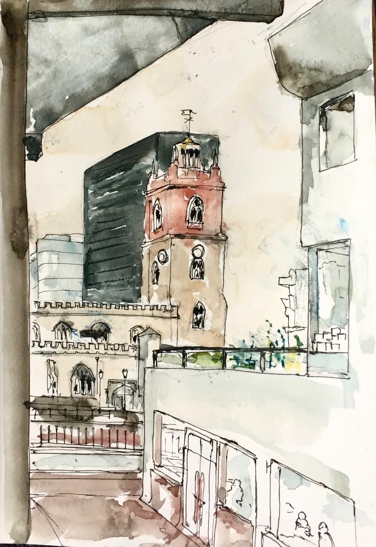 St Giles and BastionHouse