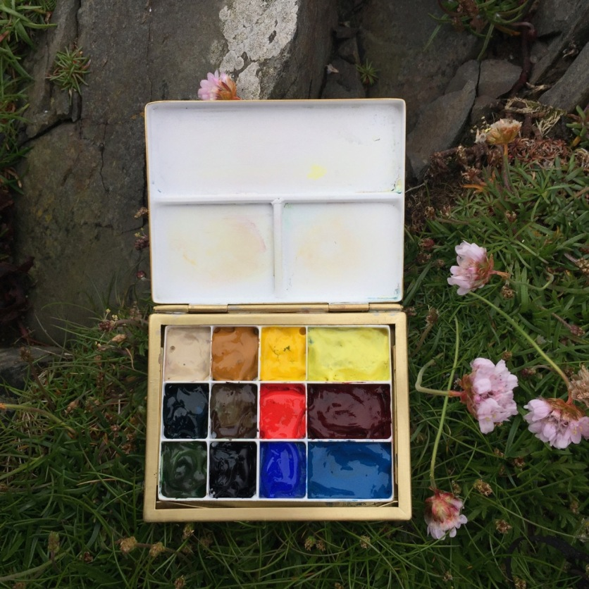 Watercolour Box 3, Uskie Geo