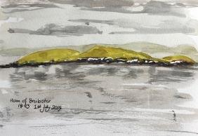Holm of Breibister (postcard)