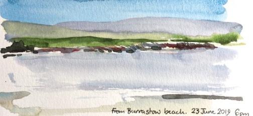 From Burrastow Beach