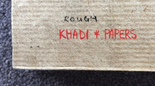 Back cover hardback book