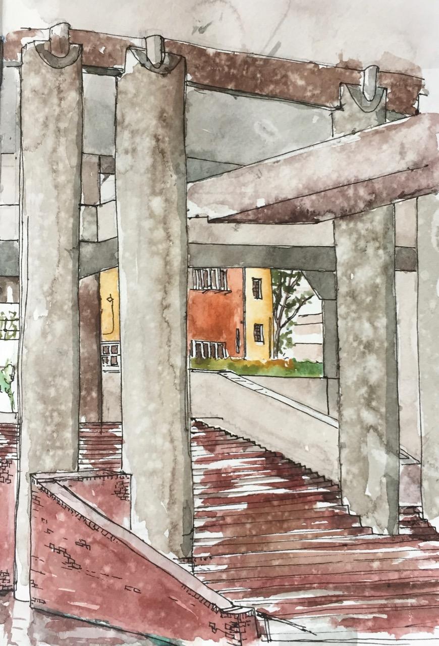 Under Mountjoy House,Barbican