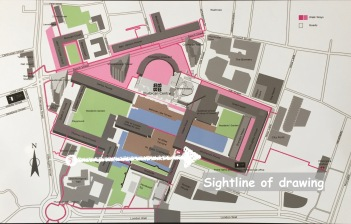 Map of Barbican Annotated 2