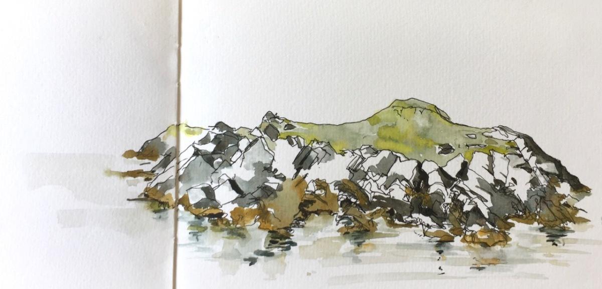 Shetland 2019 – pen andwash