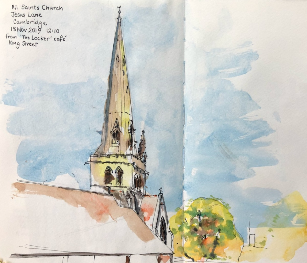 Sketching in Cambridge