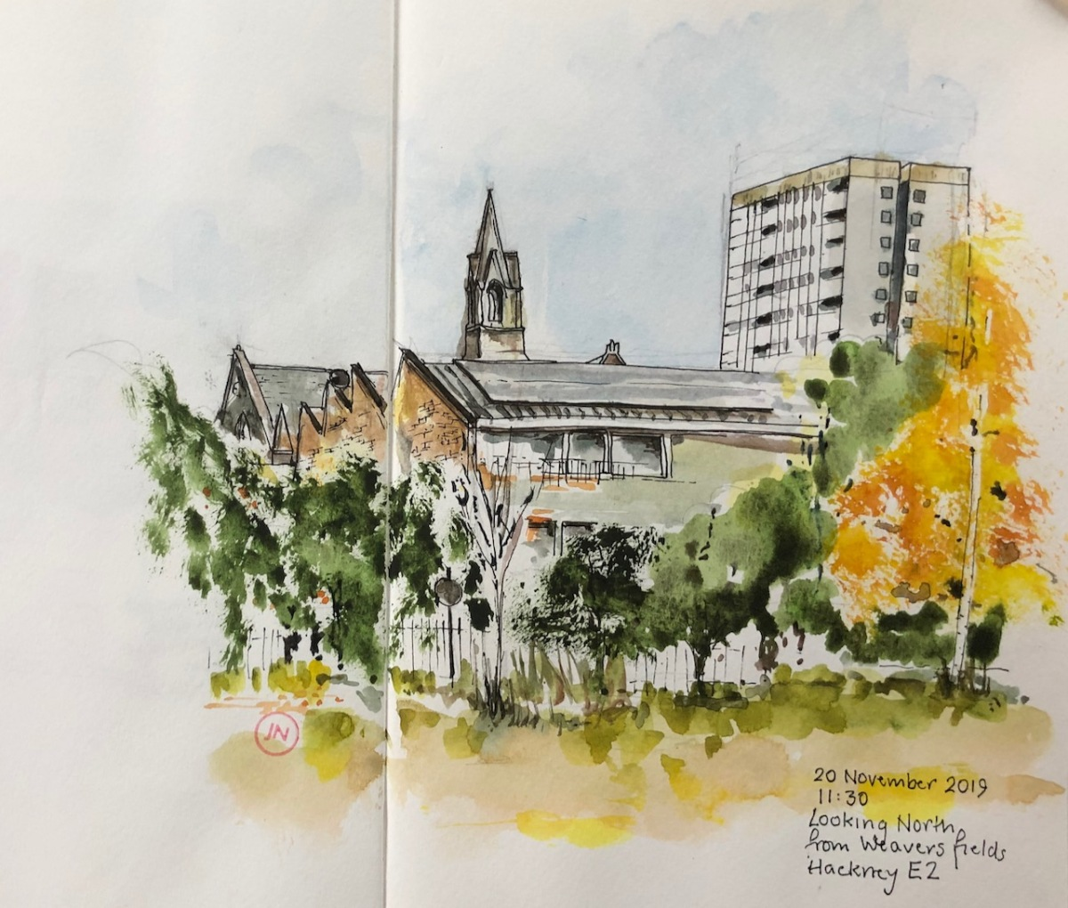 Weavers Fields, and WorshipStreet