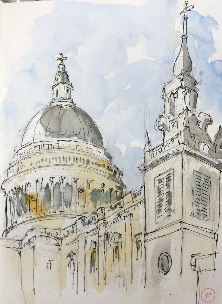 St Paul's Cathedral from theEast