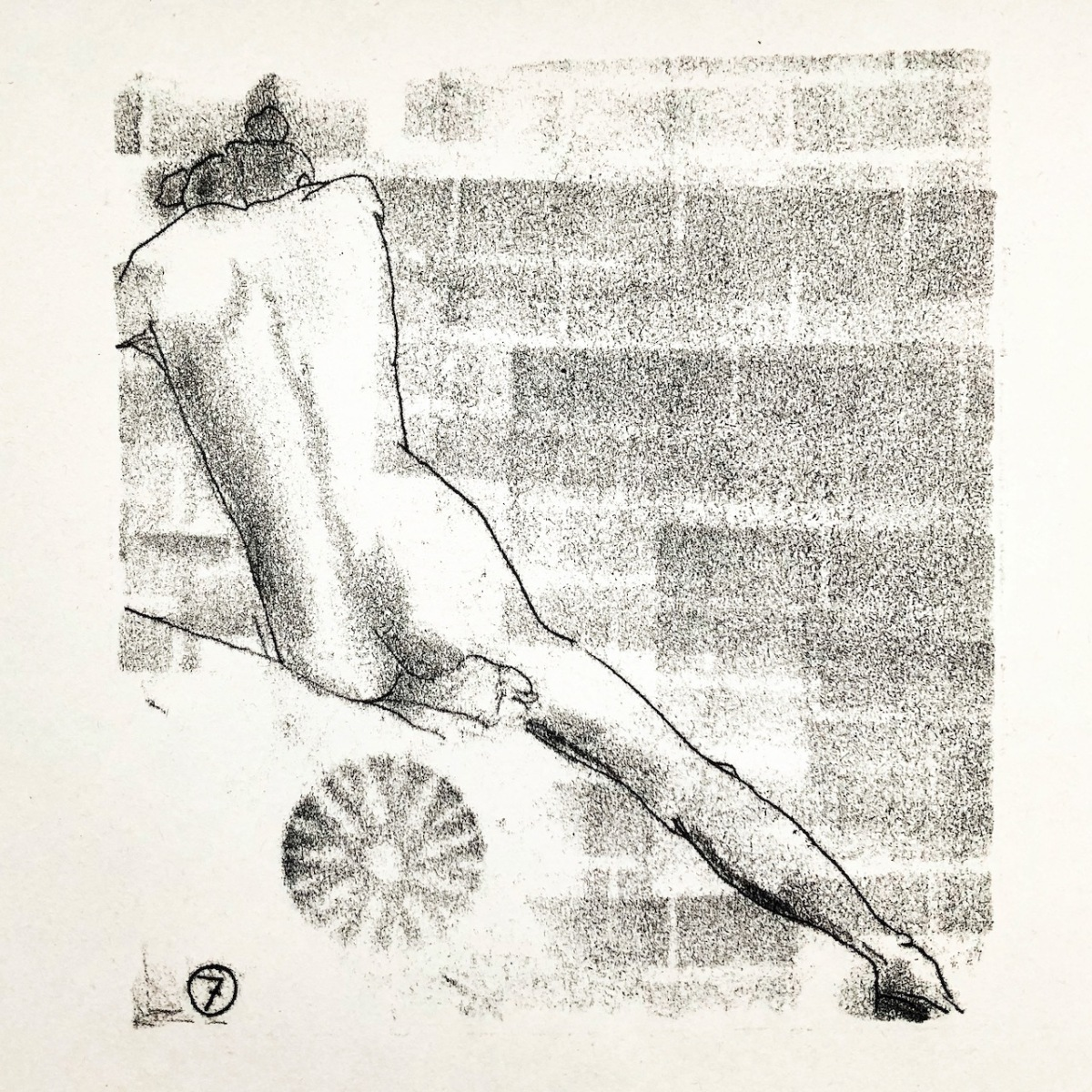 Life drawing – Paul,Sisetta