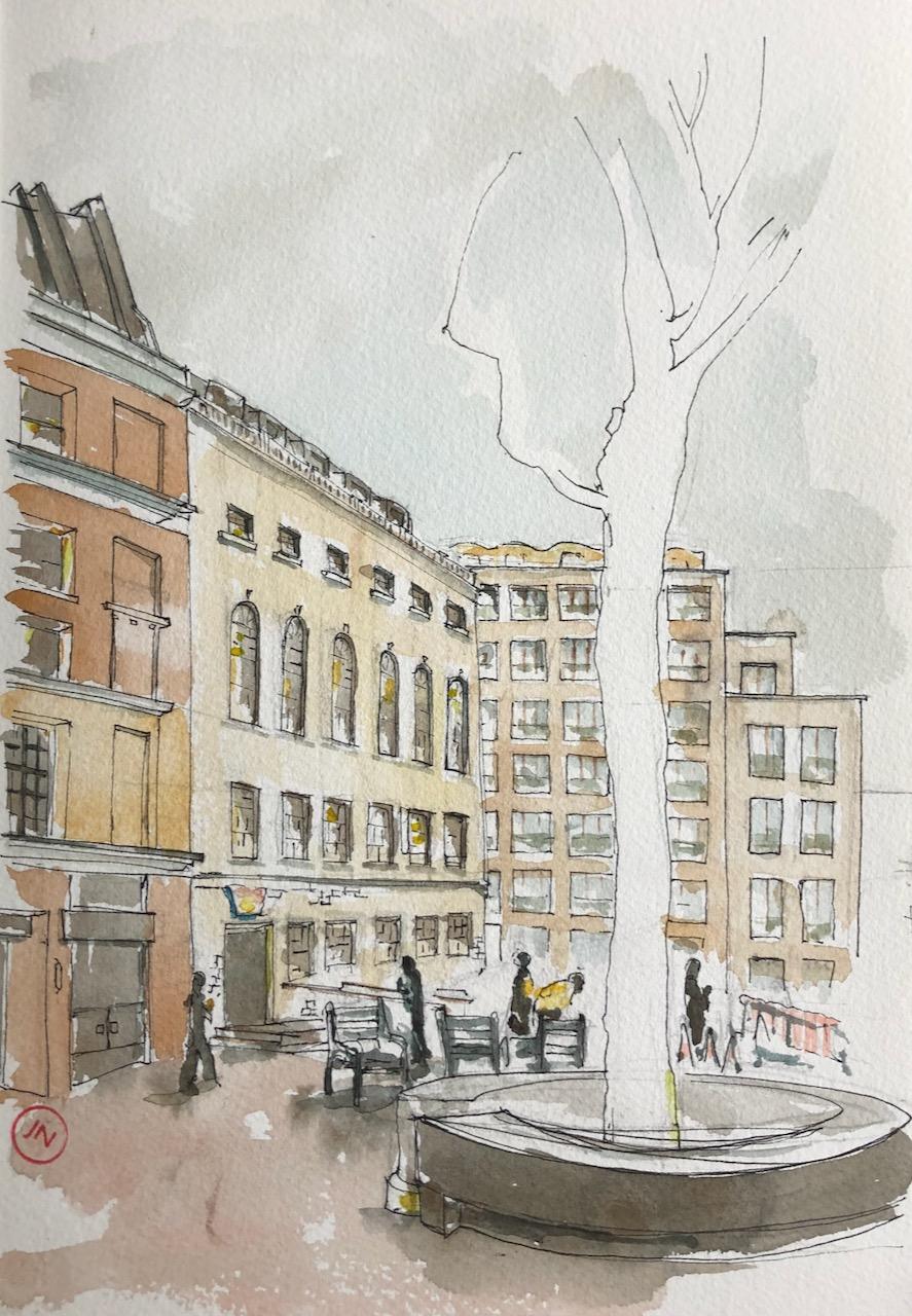 Barts Square, Butchers'Hall