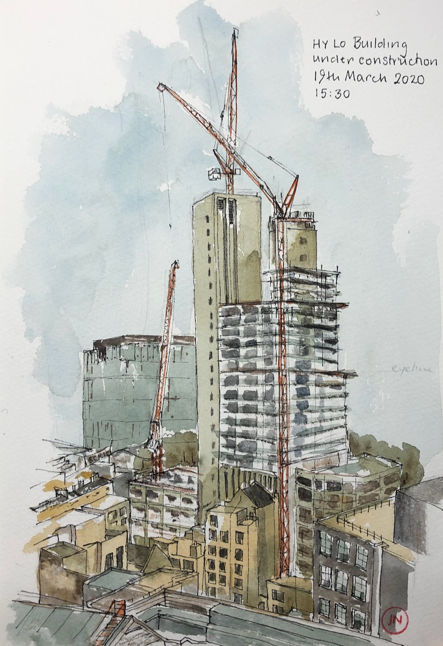 HYLO Building underconstruction