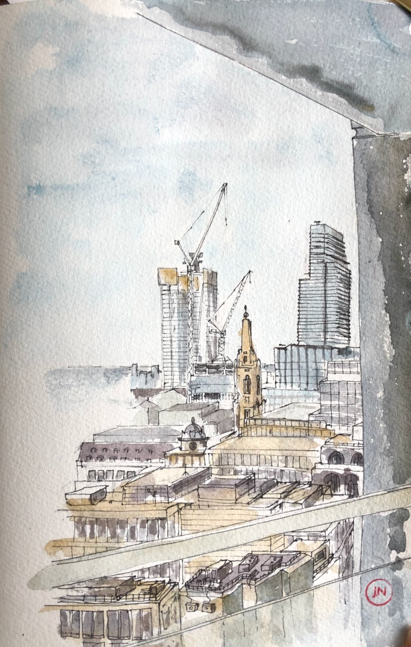 Jane Sketching