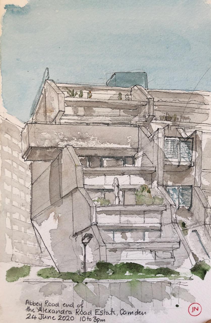 Alexandra Road Estate,Camden